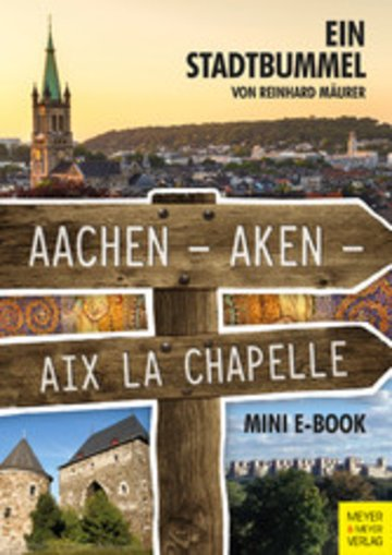 eBook Aachen - Aken - Aix la Chapelle - Mini-E-Book Cover