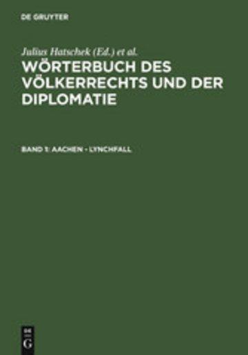 eBook Aachen - Lynchfall Cover