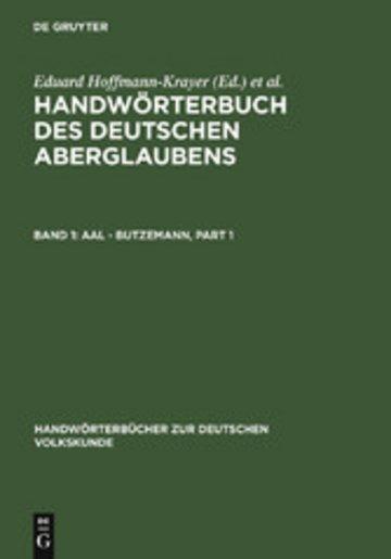 eBook Aal - Butzemann Cover