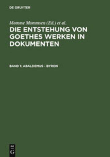 eBook Abaldemus - Byron Cover