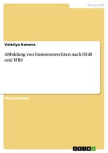 eBook Abbildung von Emissionsrechten nach HGB und IFRS Cover