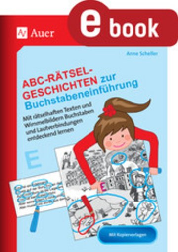 eBook Abc-Rätsel-Geschichten zur Buchstabeneinführung Cover