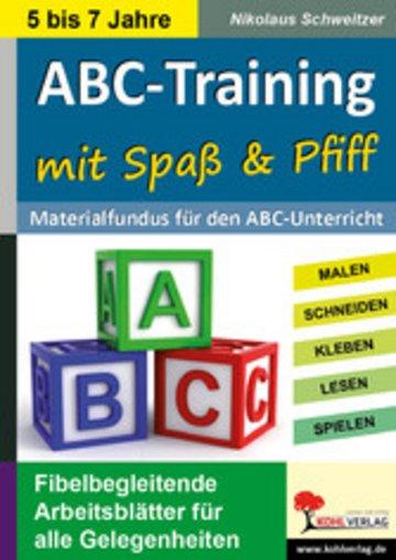 eBook ABC-Training mit Spaß und Pfiff Cover