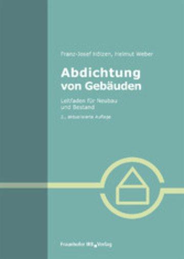 eBook Abdichtung von Gebäuden. Cover