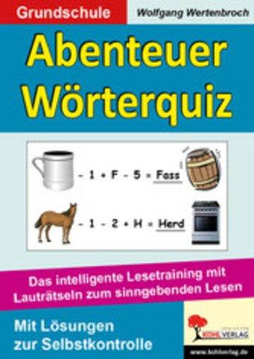 eBook Abenteuer Wörterquiz Cover