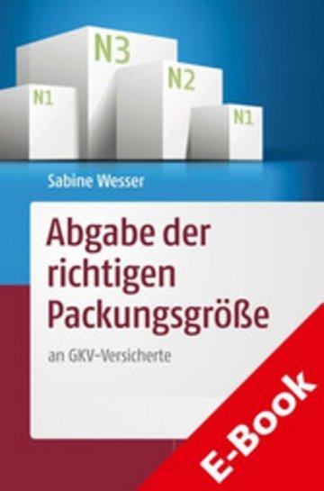 eBook Abgabe der richtigen Packungsgröße Cover