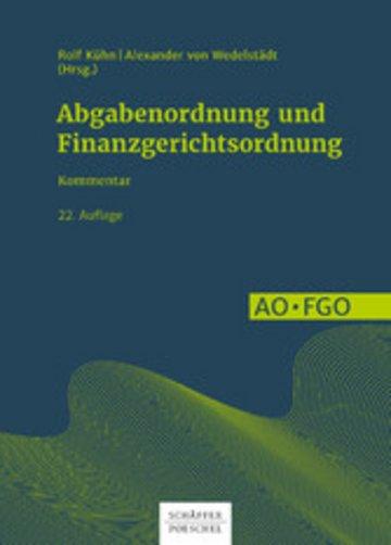 eBook Abgabenordnung und Finanzgerichtsordnung Cover