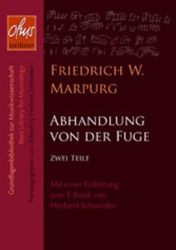 eBook Abhandlung von der Fuge Cover