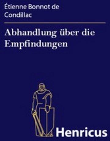 eBook Abhandlung über die Empfindungen Cover