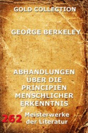 eBook Abhandlungen über die Principien menschlicher Erkenntnis Cover