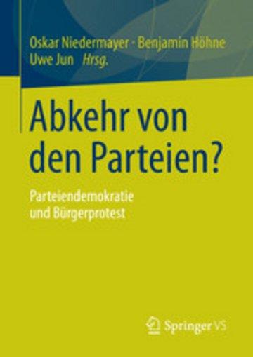 eBook Abkehr von den Parteien? Cover