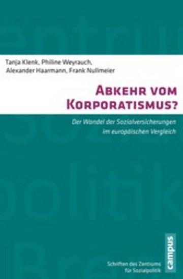 eBook Abkehr vom Korporatismus? Cover