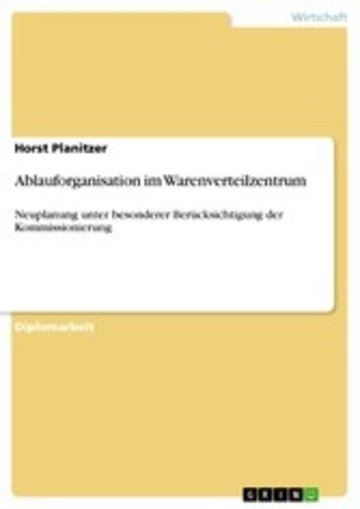 eBook Ablauforganisation im Warenverteilzentrum Cover