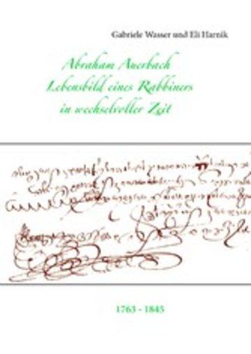 eBook Abraham Auerbach Cover