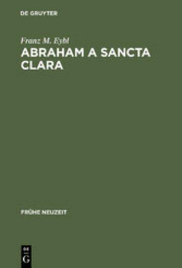 eBook Abraham a Sancta Clara Cover