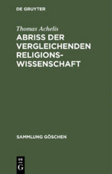 eBook Abriß der vergleichenden Religionswissenschaft Cover