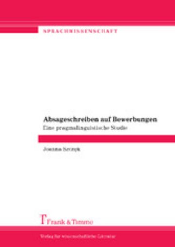 eBook Absageschreiben auf Bewerbungen Cover