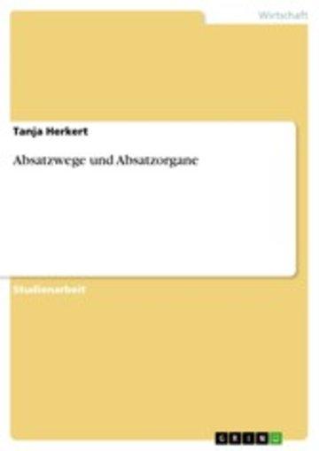 eBook Absatzwege und Absatzorgane Cover