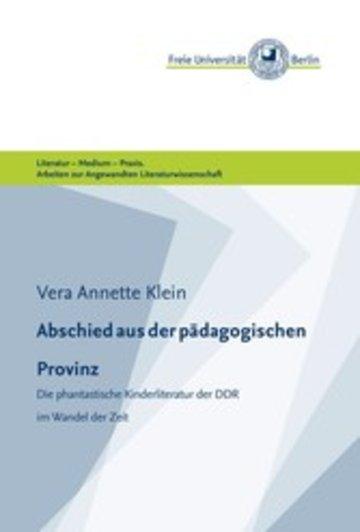 eBook Abschied aus der pädagogischen Provinz Cover