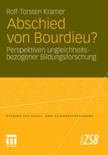 eBook Abschied von Bourdieu? Cover