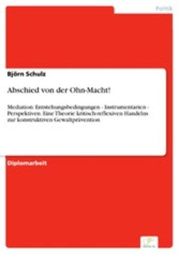 eBook Abschied von der Ohn-Macht! Cover