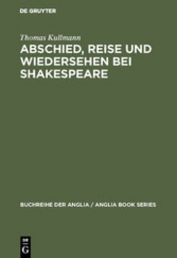 eBook Abschied, Reise und Wiedersehen bei Shakespeare Cover