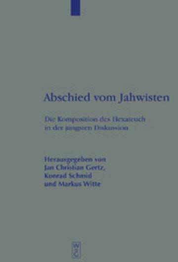 eBook Abschied vom Jahwisten Cover