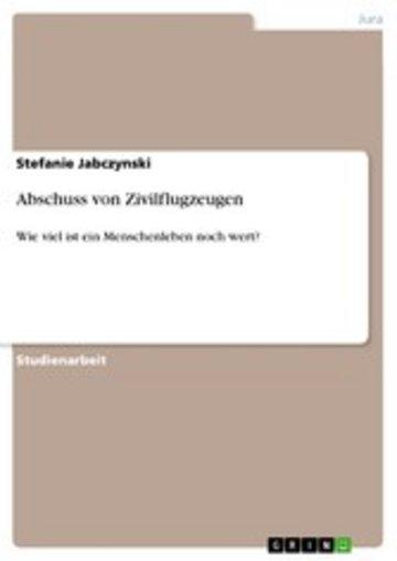 eBook Abschuss von Zivilflugzeugen Cover