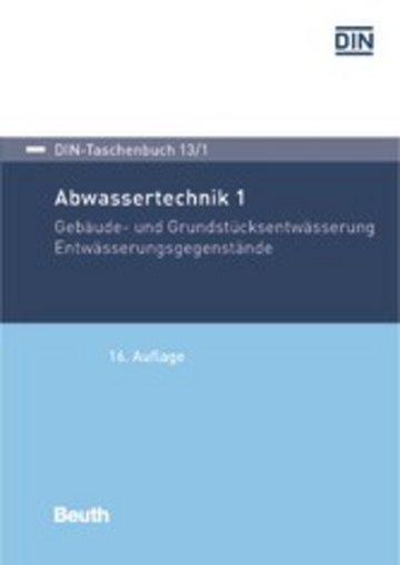 eBook Abwassertechnik 1 Cover
