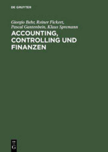 eBook Accounting, Controlling und Finanzen Cover