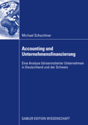 eBook Accounting und Unternehmensfinanzierung Cover