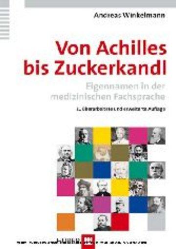 eBook Von Achilles bis Zuckerkandl Cover