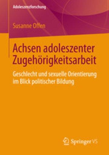 eBook Achsen adoleszenter Zugehörigkeitsarbeit Cover