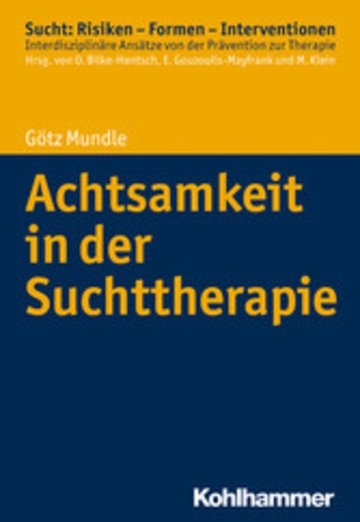 eBook Achtsamkeit in der Suchttherapie Cover