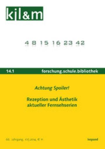 eBook Achtung Spoiler! Rezeption und Ästhetik aktueller Fernsehserien Cover