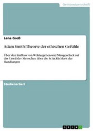 eBook Adam Smith: Theorie der ethischen Gefühle Cover