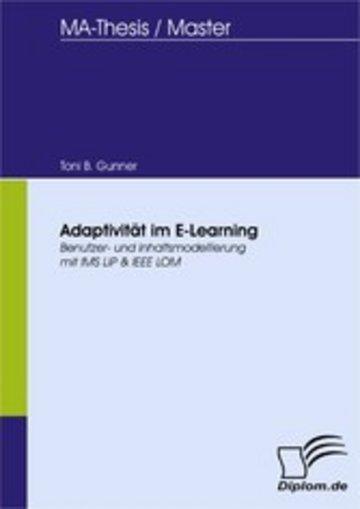eBook Adaptivität im E-Learning Cover