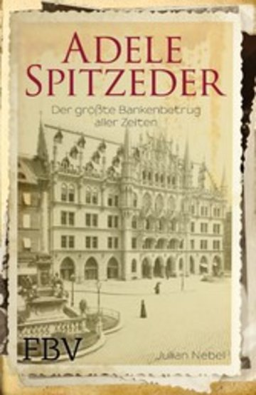 eBook Adele Spitzeder Cover