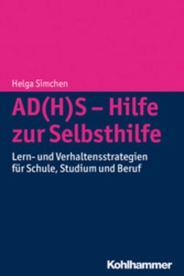 eBook AD(H)S - Hilfe zur Selbsthilfe Cover