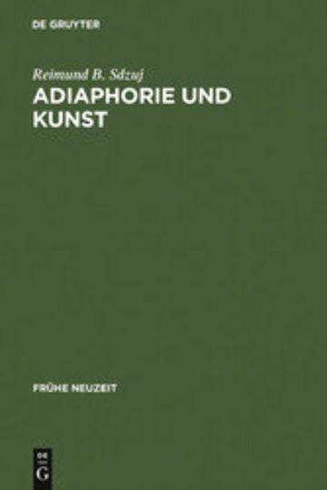 eBook Adiaphorie und Kunst Cover