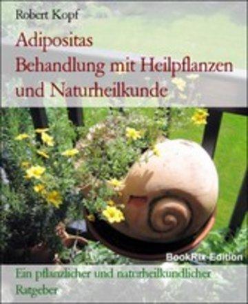 eBook Adipositas Behandlung mit Heilpflanzen und Naturheilkunde Cover