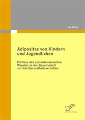 eBook Adipositas von Kindern und Jugendlichen Cover