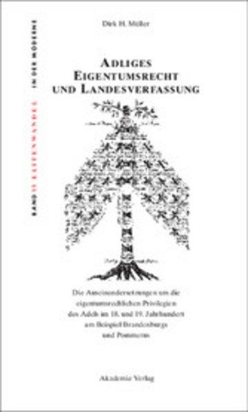 eBook Adliges Eigentumsrecht und Landesverfassung Cover