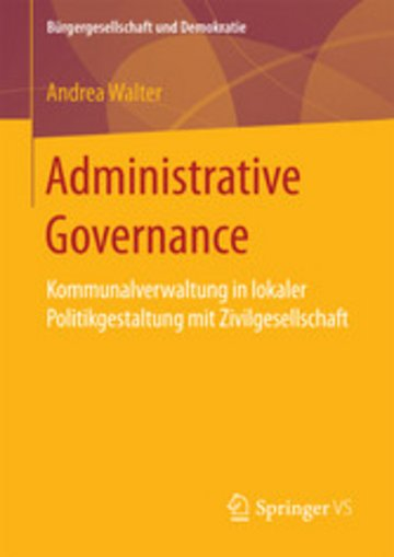 eBook Administrative Governance Cover