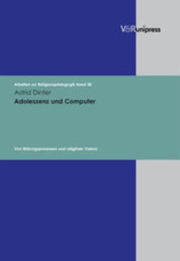 eBook Adoleszenz und Computer Cover