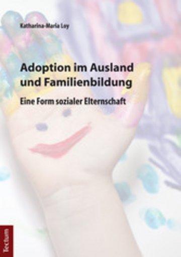 eBook Adoption im Ausland und Familienbildung Cover