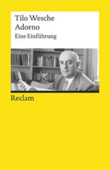 eBook Adorno. Eine Einführung Cover
