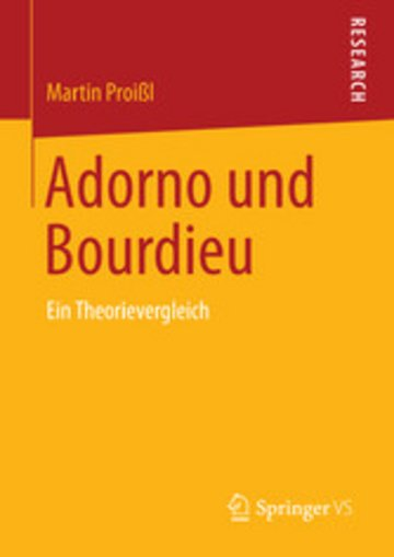 eBook Adorno und Bourdieu Cover
