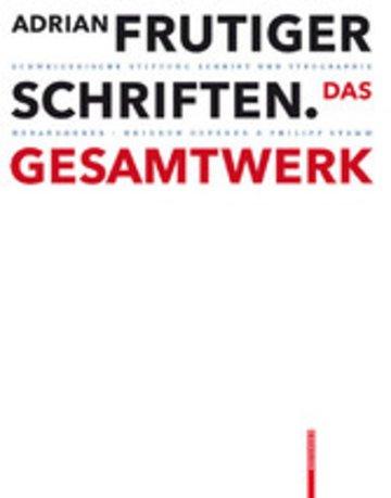 eBook Adrian Frutiger - Schriften Cover