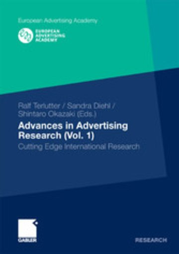 eBook Advances in Advertising Research (Vol. 1) Cover